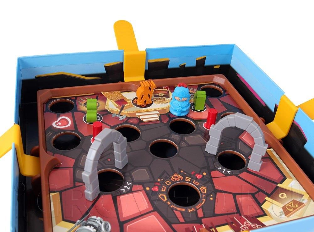 Компоненты настольной игры Путь рыцаря (Slide Quest)