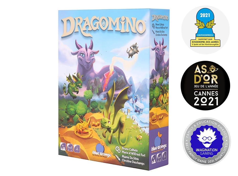 Коробка настольной игры Драконье королевство