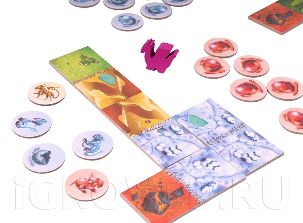 Игровой процесс настольной игры Драконье королевство