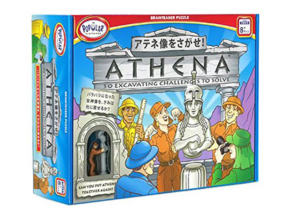Коробка настольной игры-головоломки Athena