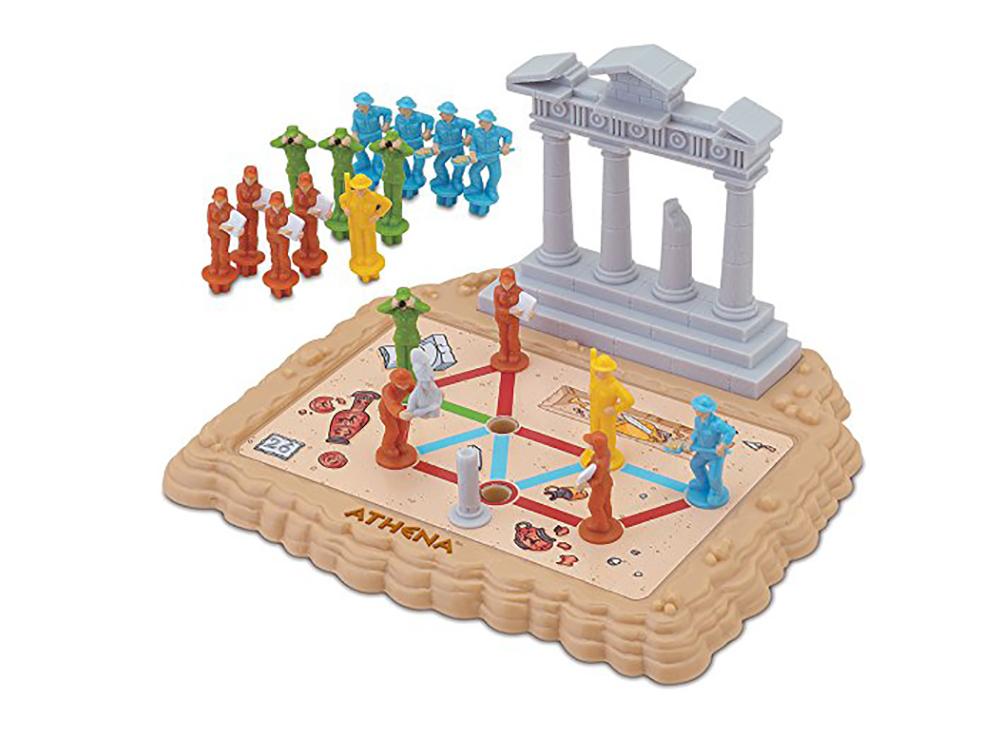 Компоненты Коробка настольной игры-головоломки Athena