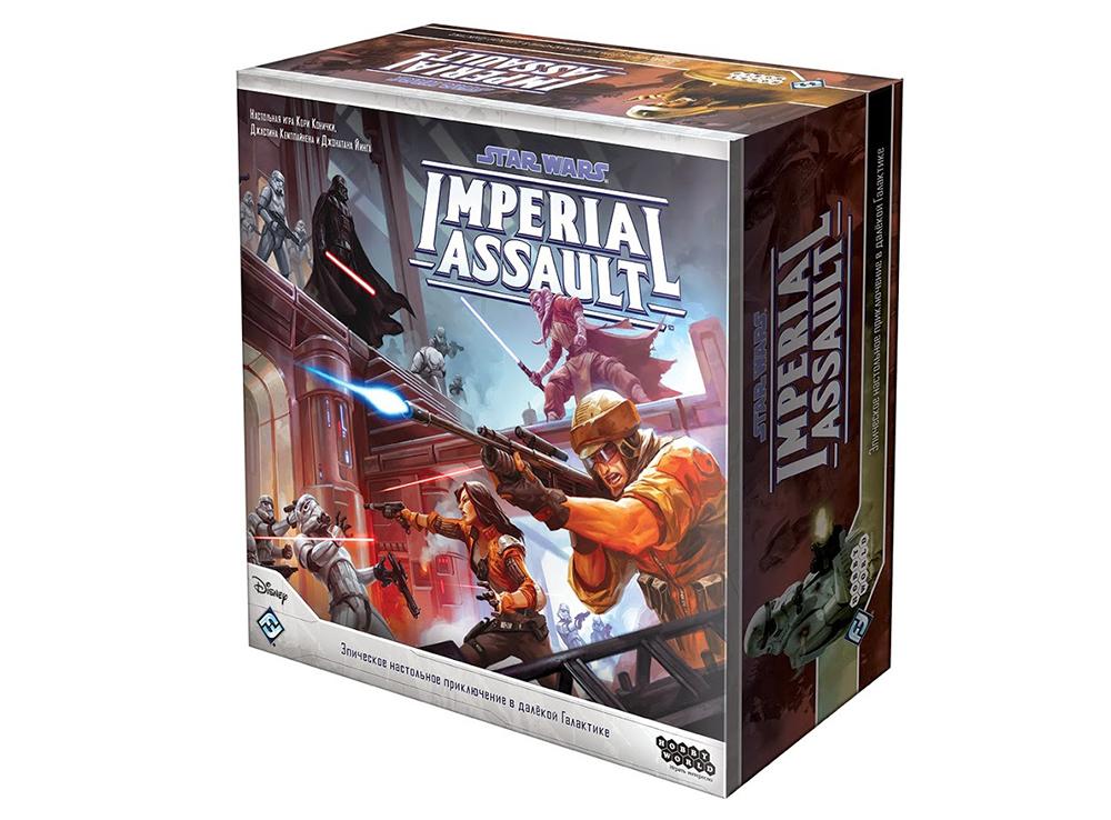 Коробка настольной игры Star Wars: Imperial Assault (рус. изд.)