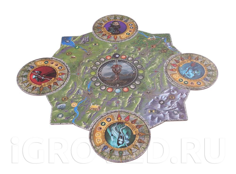 Игровое поле настольной игры Морн