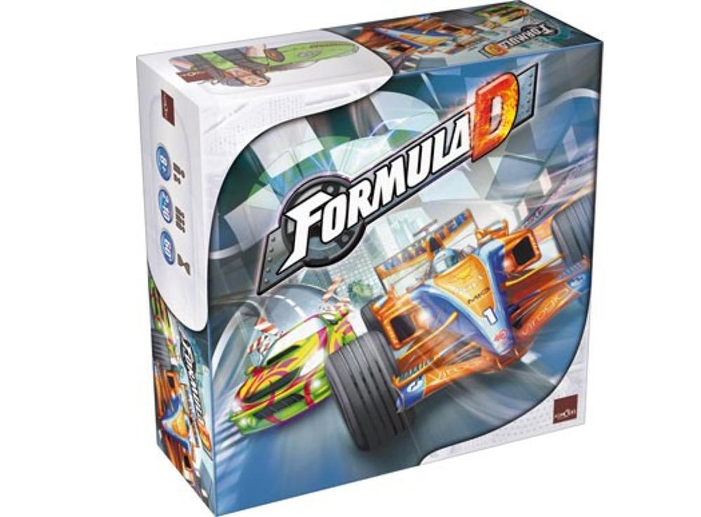 Коробка настольной игры Формула Д (Formula D)