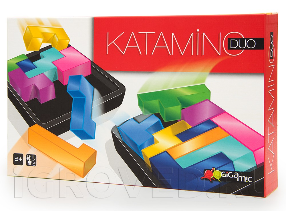 Коробка настольной игры Катамино ДУО (Katamino Duo)