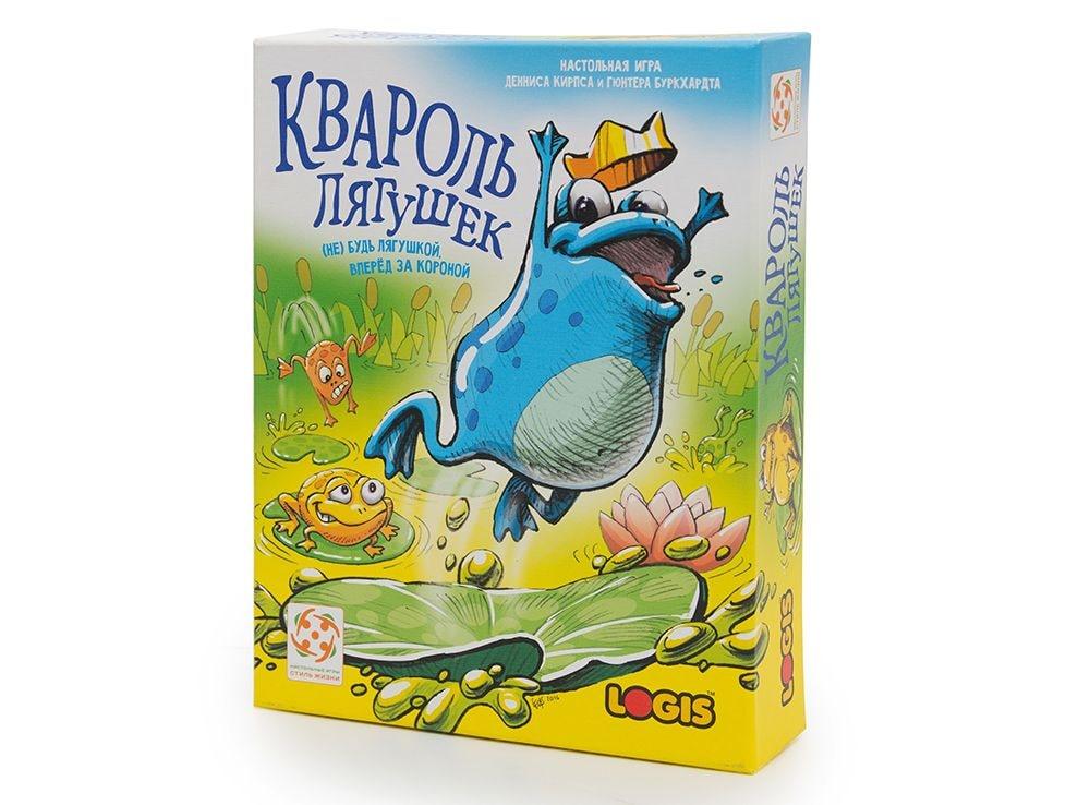 Коробка с настольной игрой Квароль лягушек (Quibbit)
