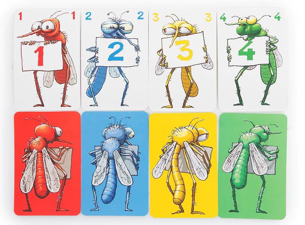 Отличные иллюстрации и качественные компоненты в настольной игре Квароль лягушек (Quibbit)