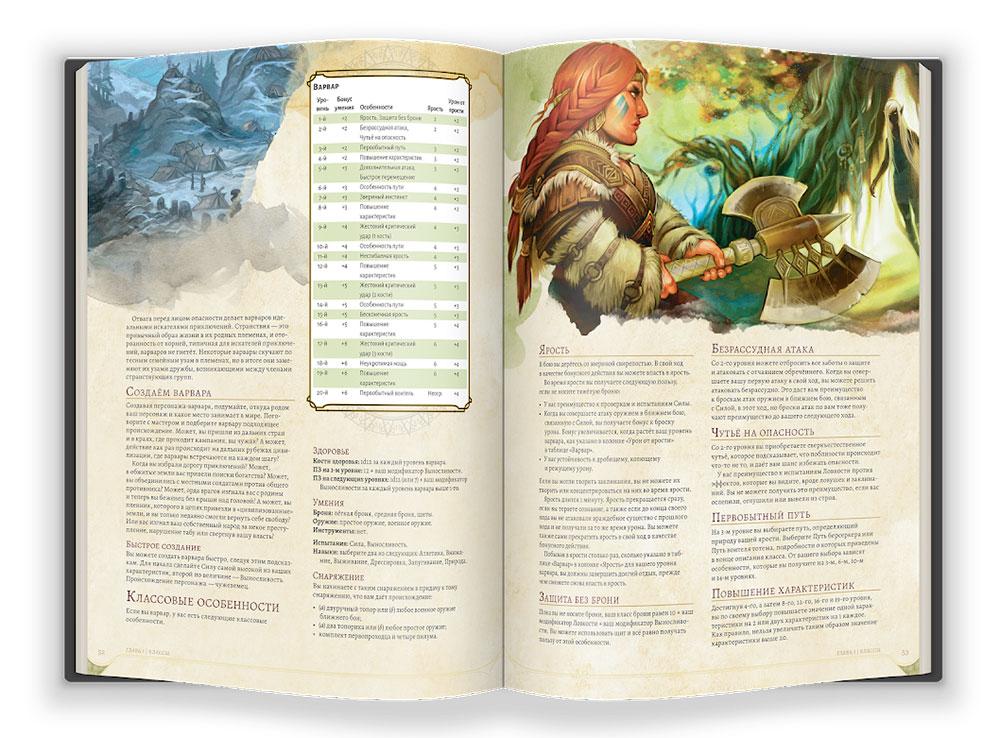 Настольная игра Dungeons Dragons. Книга игрока