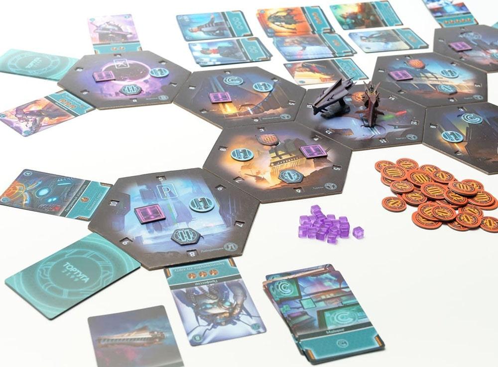 Игровой процесс настольной игры Тортуга 2199
