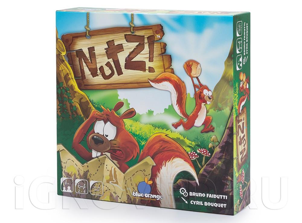 Коробка с настольной игрой Беличье счастье (Nutz)