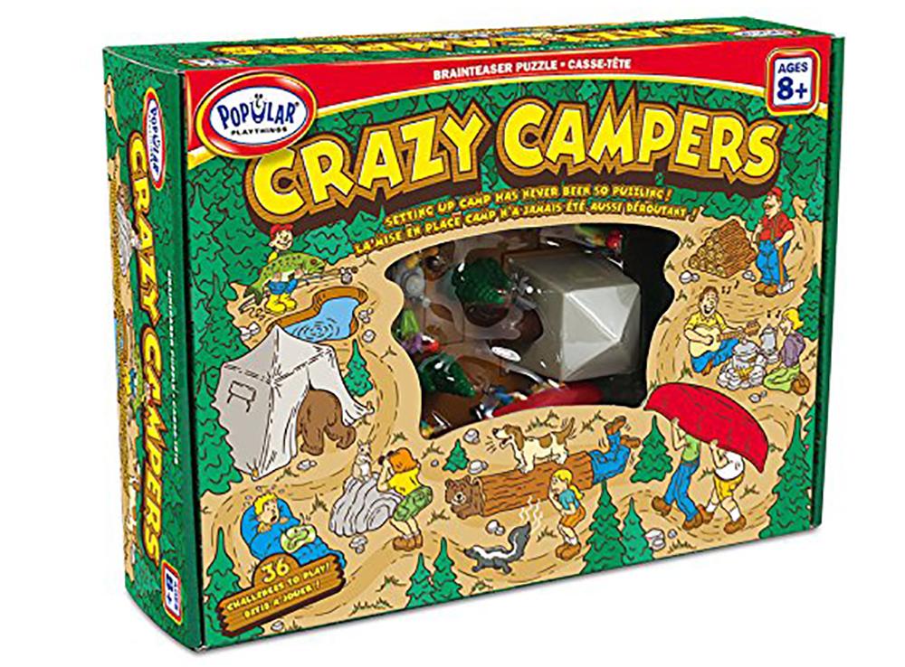 Коробка настольной игры-головоломки Crazy Campers