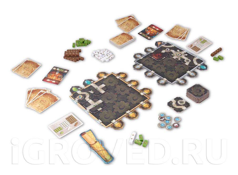 Игровой процесс настольной игры Нагараджа (Nagaraja)