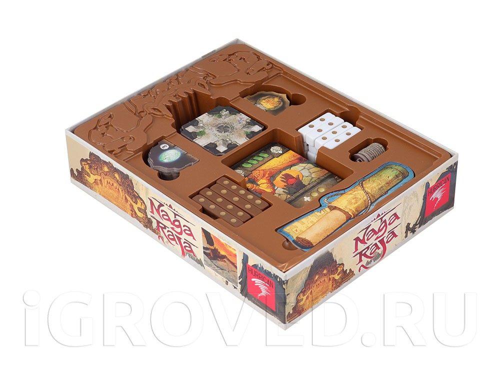 Компоненты настольной игры Нагараджа (Nagaraja)