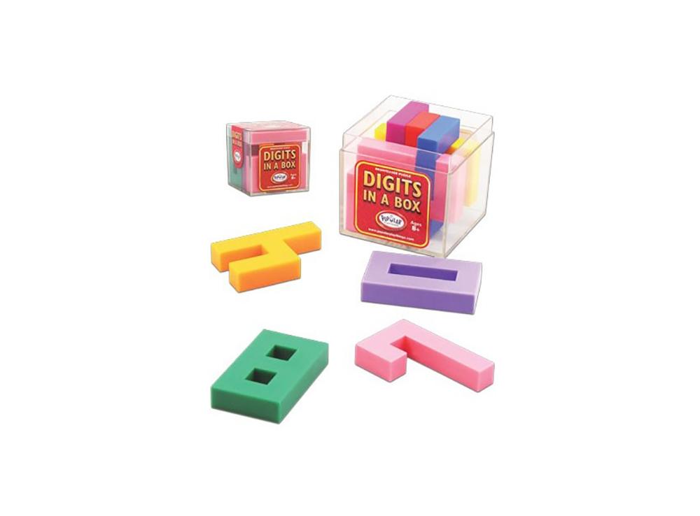 Настольная игра-головоломка Digits in a box