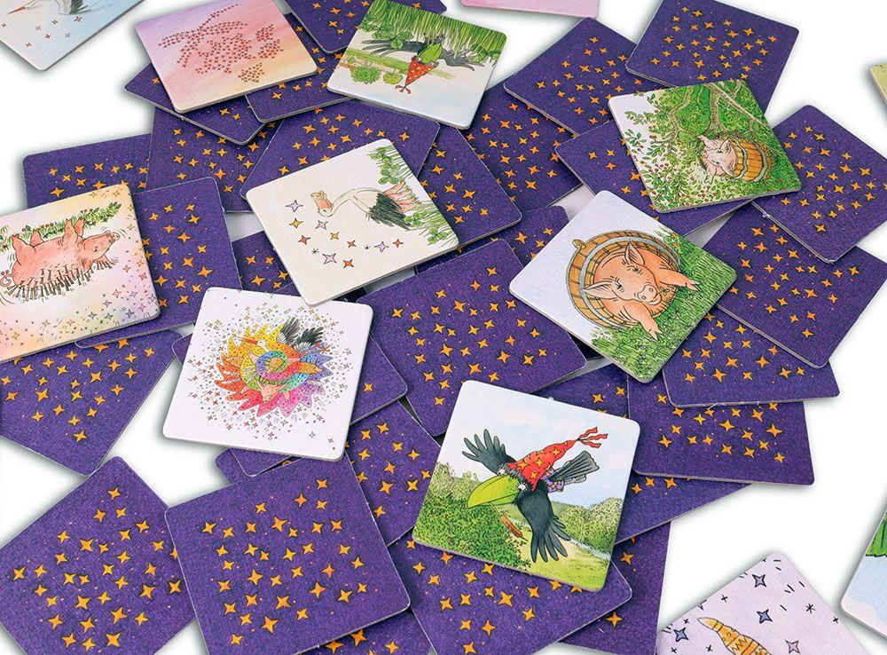 Карточки настольной игры Лови ворон!