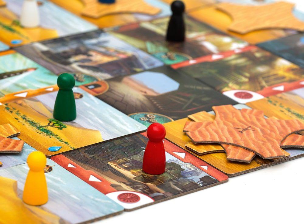 Кооперативная настольная игра Запретная пустыня сплотит за столом всех участников!