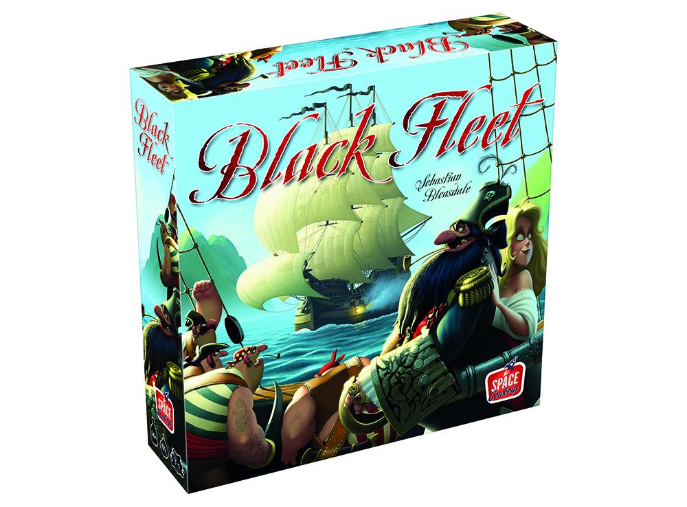 Коробка настольной игры Чёрный Флот (Black Fleet)