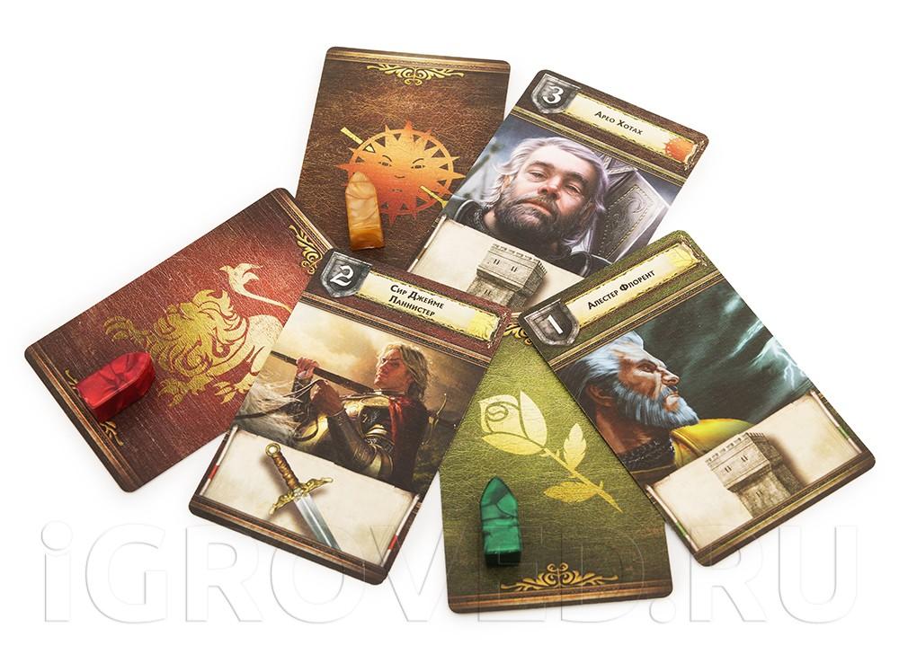 Ключевые герои Песни льда и пламени, которые приходят на помощь отрядам Дома в сражениях. Настольная игра Игра престолов (2-е издание)