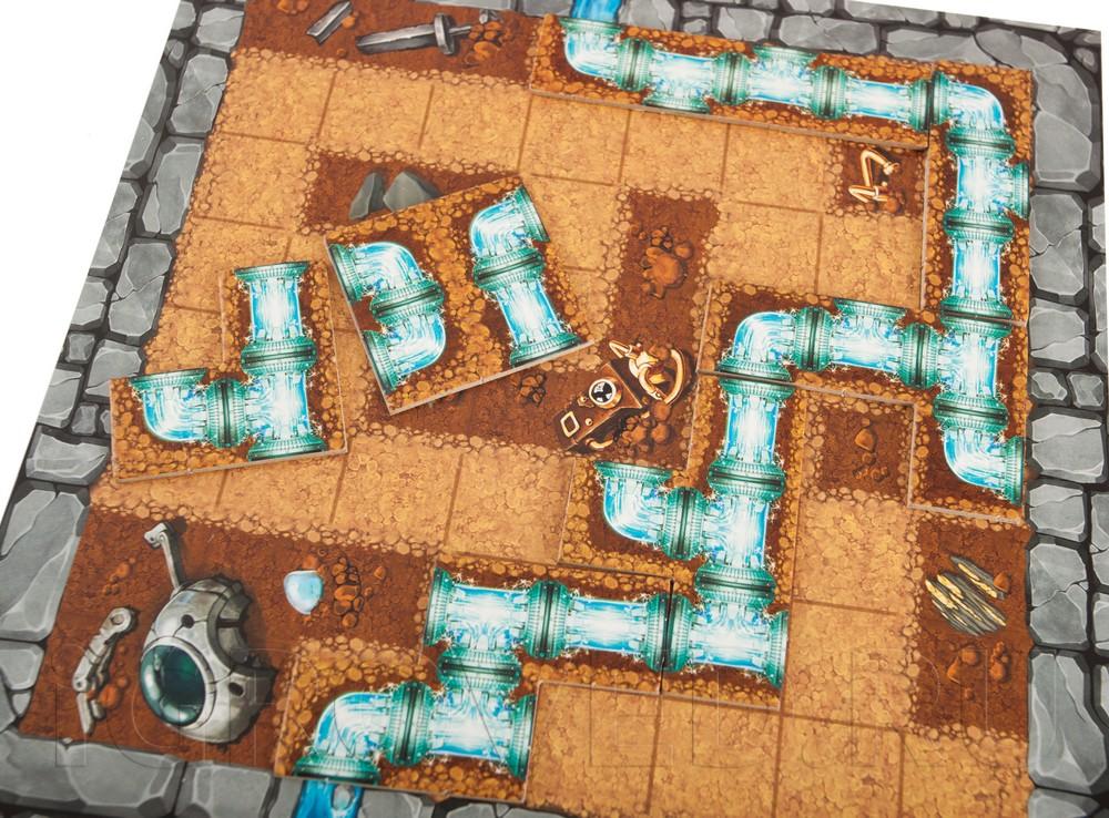 Игровой процесс настольной игры Трубиринт