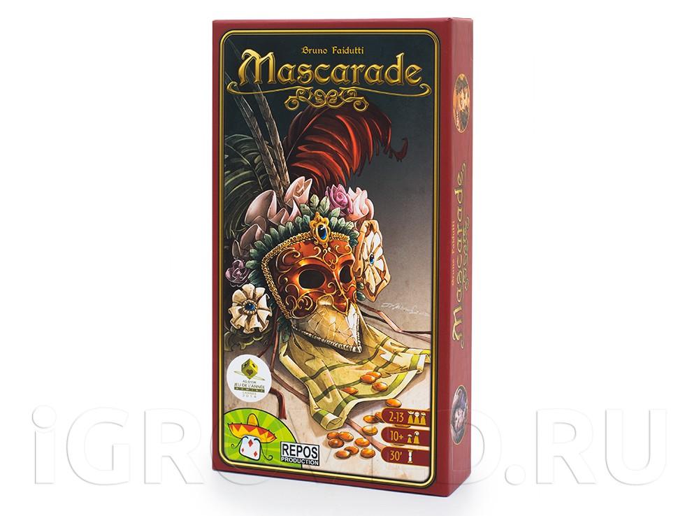 Коробка настольной игры Маскарад (Mascarade)