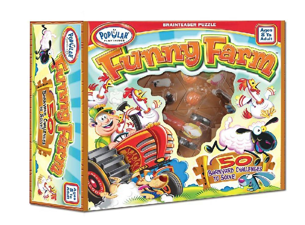 Коробка настольной игры-головоломки Funny Farm