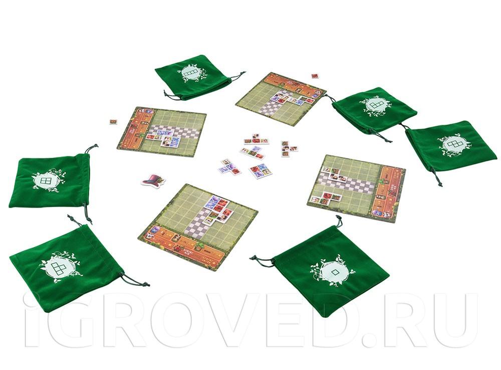 Игровой процесс настольной игры Сад Алисы (Alice Garden)