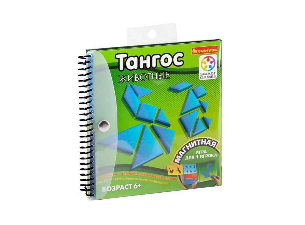 Папка настольной игры-головоломки Тангос: Животные
