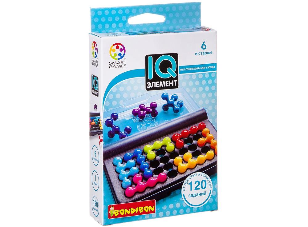 Коробка настольной игры-головоломки IQ-Элемент