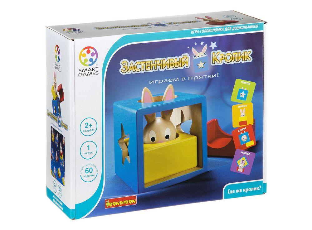 Коробка настольной игры-головоломки Застенчивый кролик