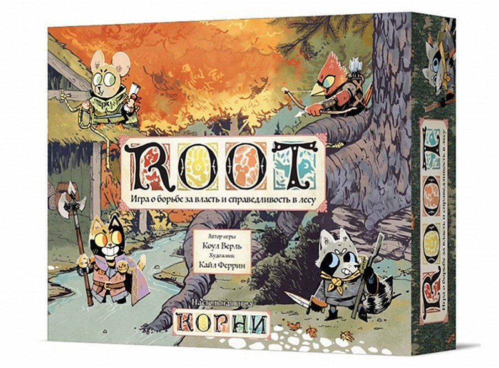 Коробка настольной игры Корни (Root)