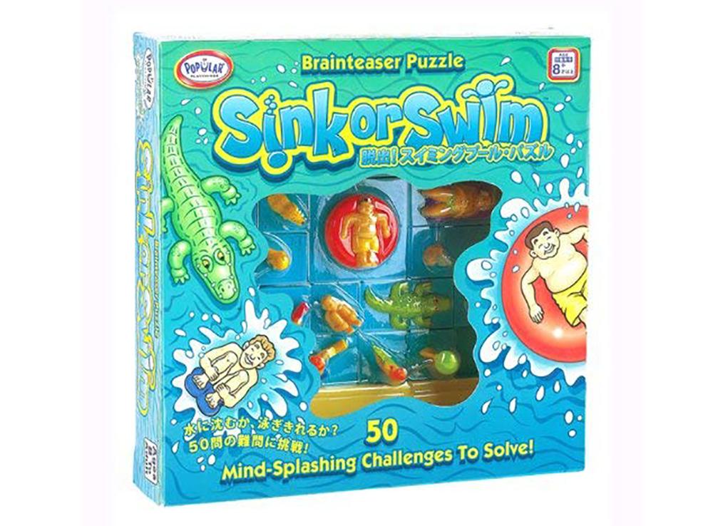 Коробка настольной игры-головоломки Sink or Swim