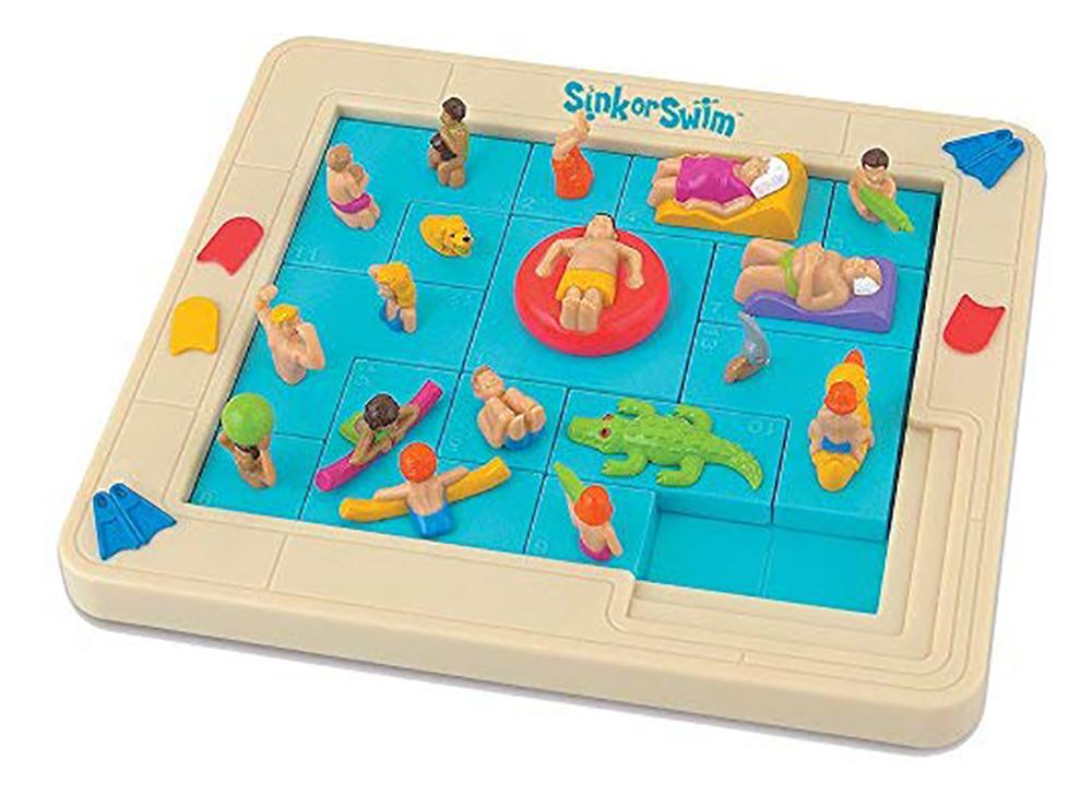 Игровое поле настольной игры-головоломки Sink or Swim