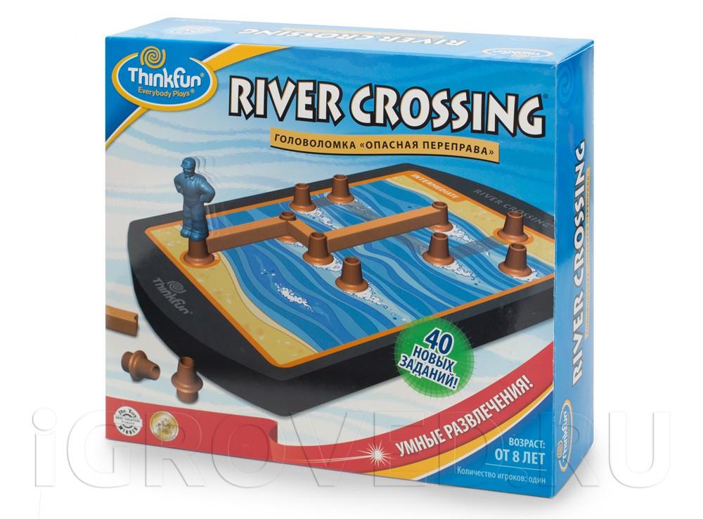 Игра-головоломка Опасная переправа (River Crossing)