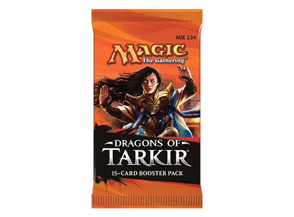 MTG: Драконы Таркира Бустер EN