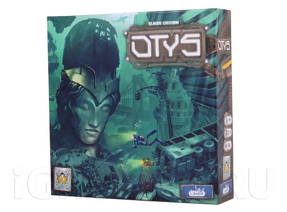 Коробка настольной игры Отис (Otys)