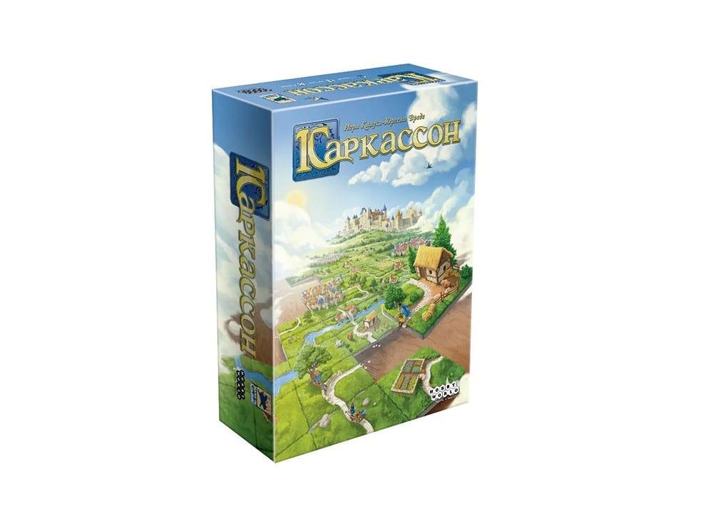 Коробка настольной игры Каркассон