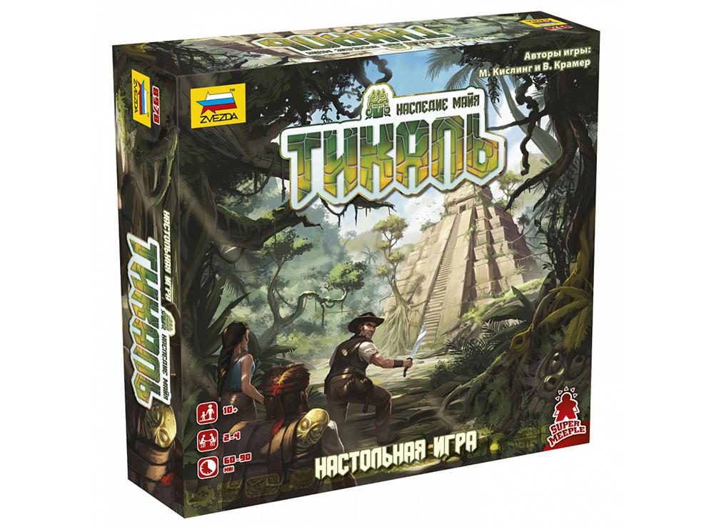 Коробка настольной игры Тикаль (Tikal)