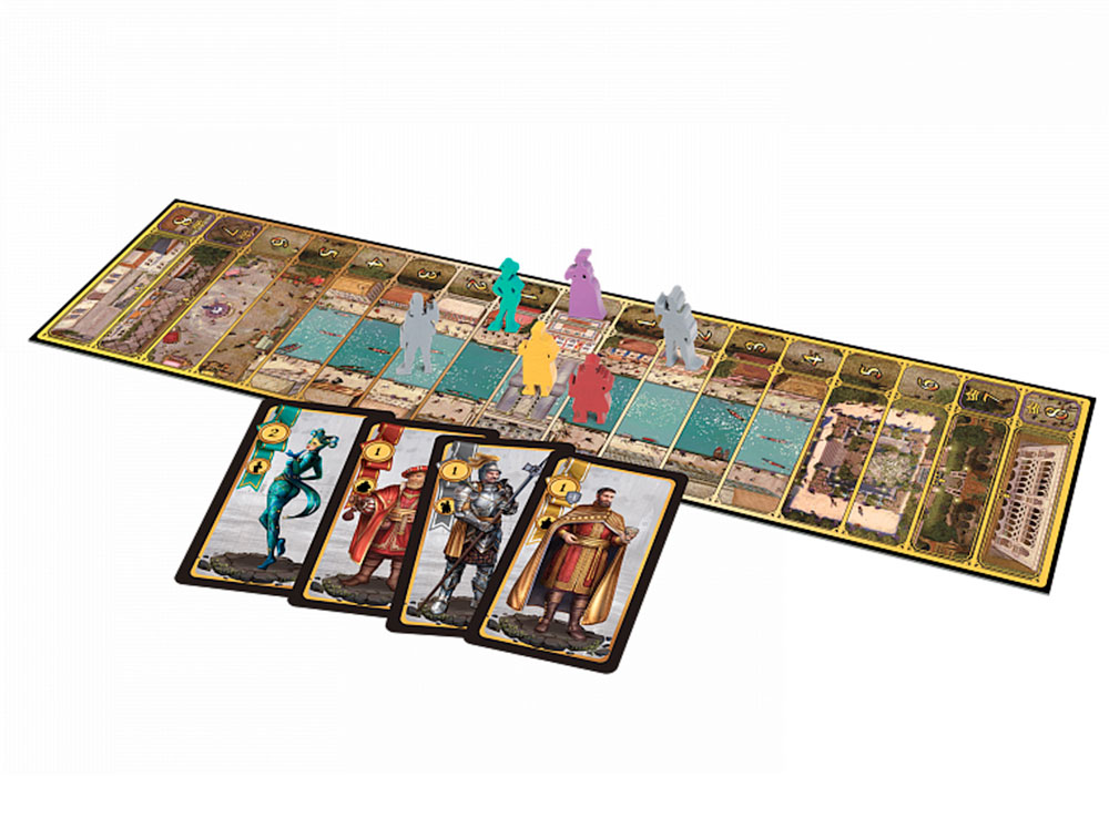 Игровой процесс настольной игры Сумерки Венеции