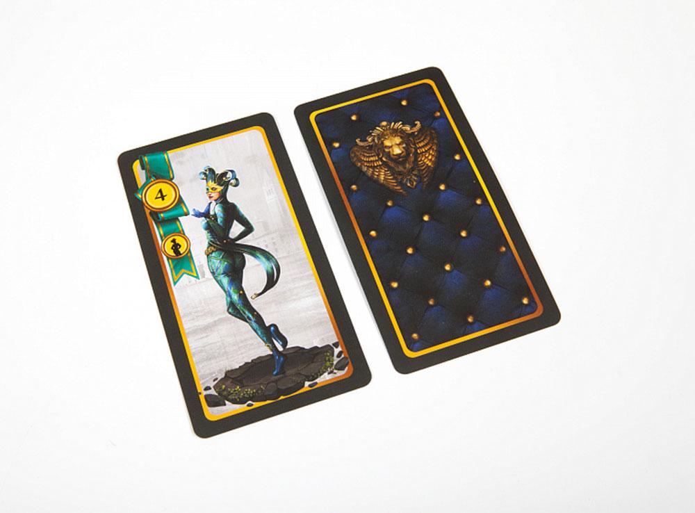Карточки настольной игры Сумерки Венеции
