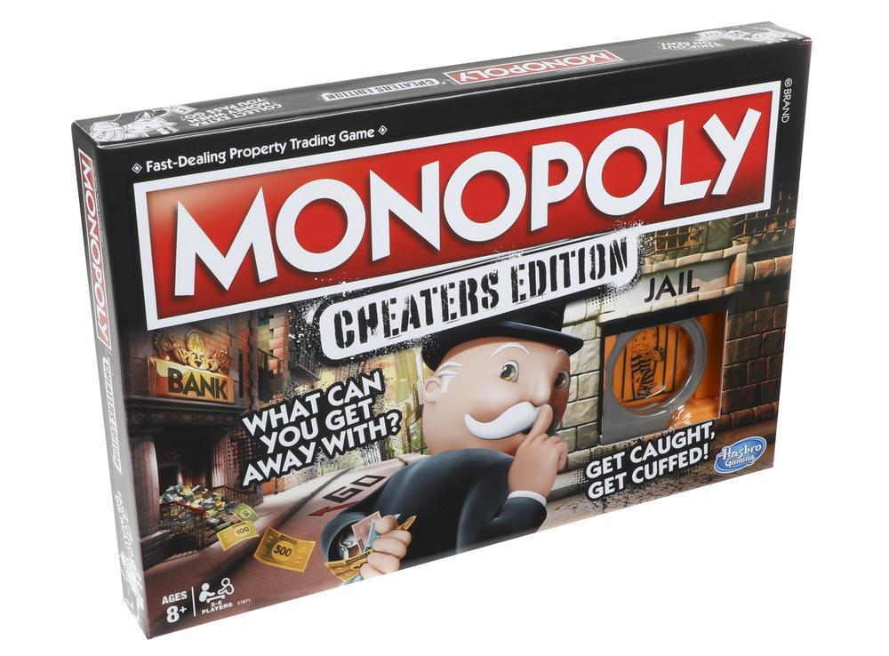 Коробка настольной игры Монополия большая афера