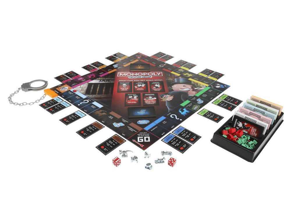 Игровой процесс настольной игры Монополия большая афера