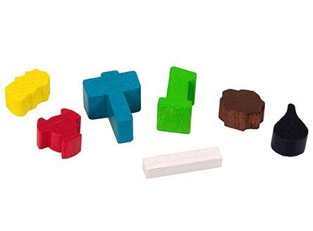 Игровые компоненты настольной игры Энергосеть