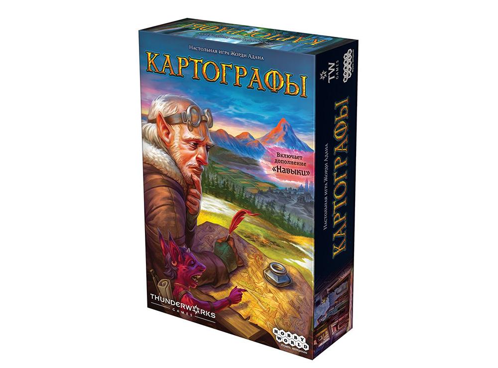 Коробка настольной игры Картографы