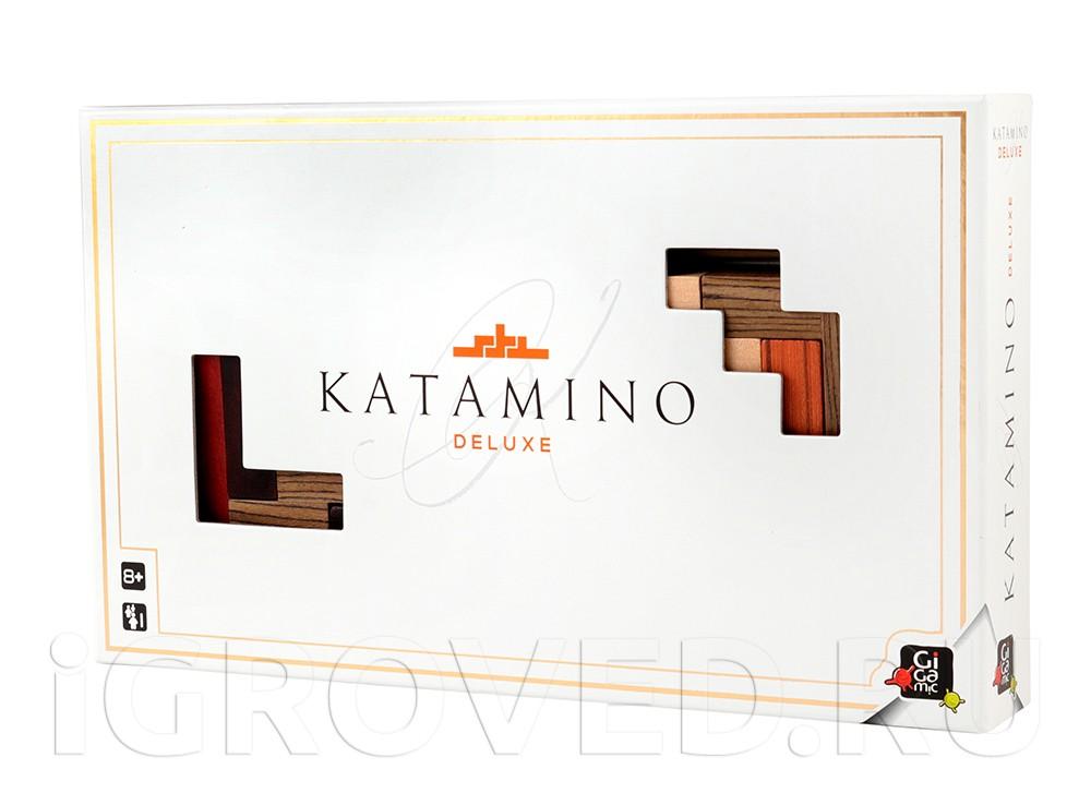 Коробка настольной игры Катамино Делюкс (Katamino Deluxe)