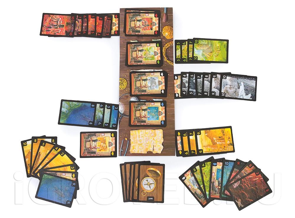 Игровой процесс настольной игры Затерянные города