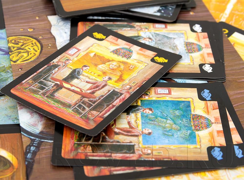 Карточки настольной игры Затерянные города