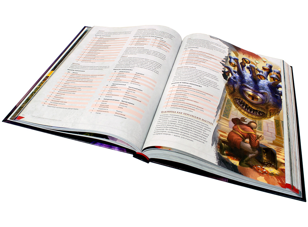 Книга Dungeons & Dragons. Руководство мастера подземелий