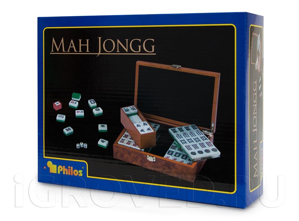 Коробка настольной игры Маджонг (Mahjong)