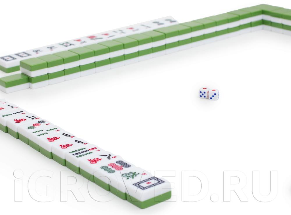 Игровой процесс настольной игры Маджонг (Mahjong)