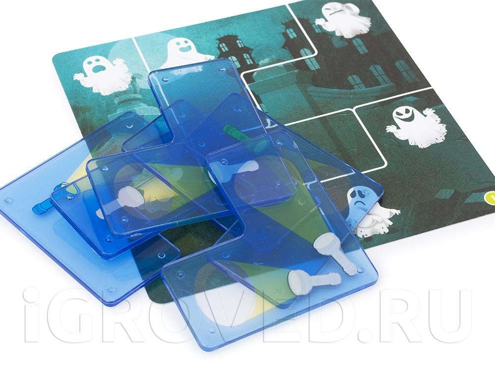 Фоны с милыми призраками и пластиковые тайлы